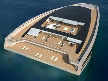 Why - luxusní Hermes jachta, loď