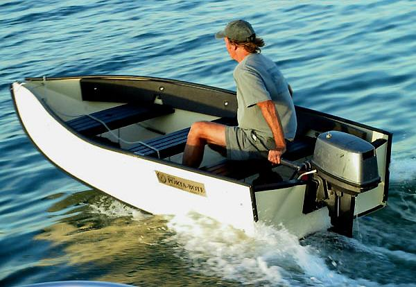 раскрой складной лодки